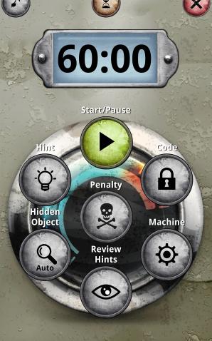 Screenshot from Unlock app