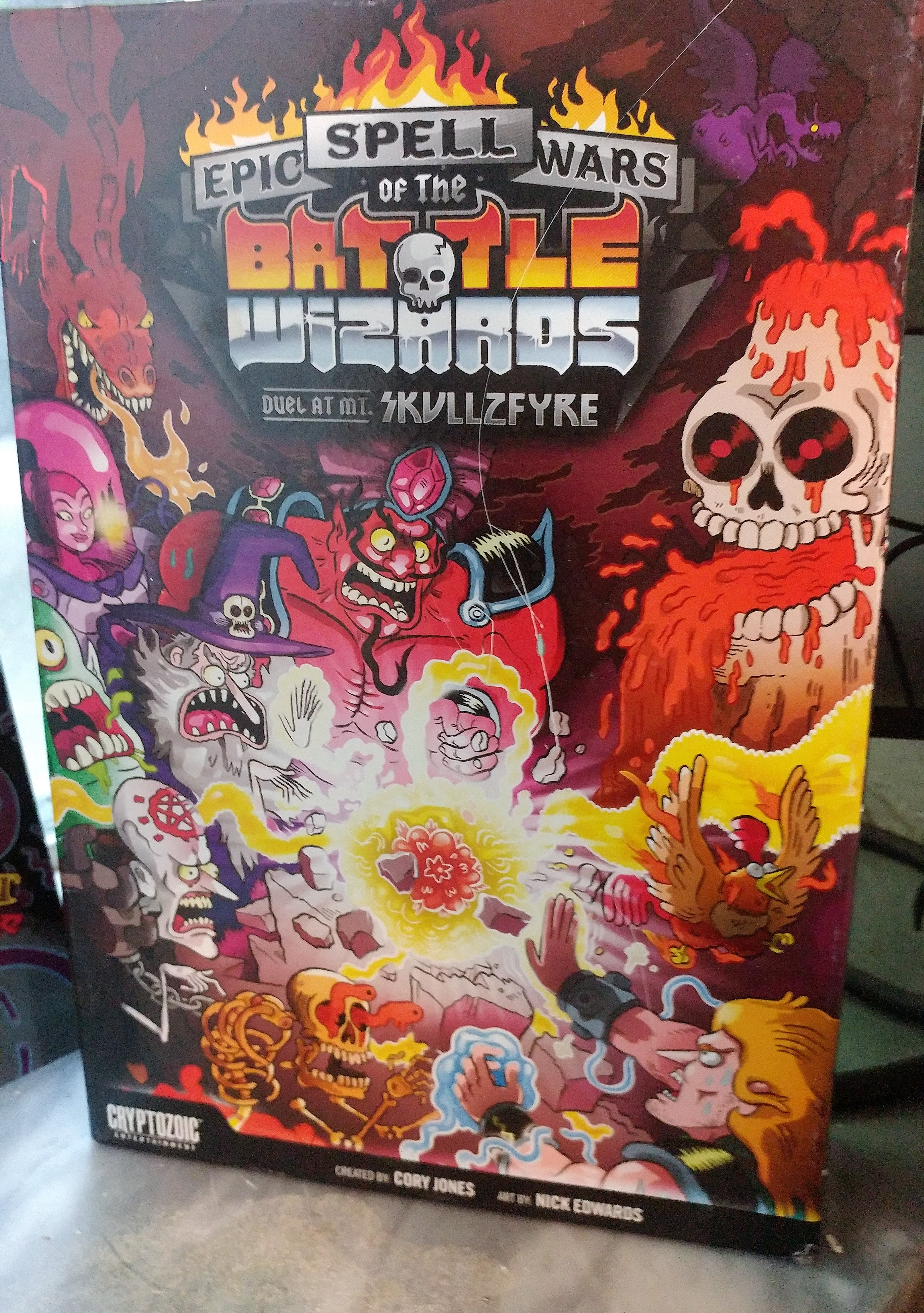 Box cover of Epic Spell Wars