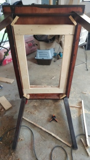 Frame in and completed